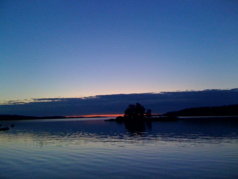 Somijas salu saulriets