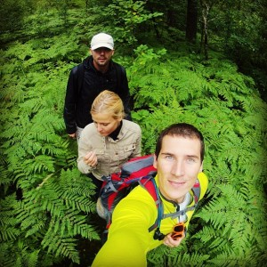 Pārgājiens pa mežu Kaņiera ezers